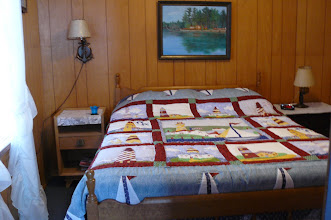 Photo: lighthouse downstairs bedroom