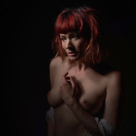 Waiting  by Michaela Firešová - Nudes & Boudoir Artistic Nude ( nude, female )