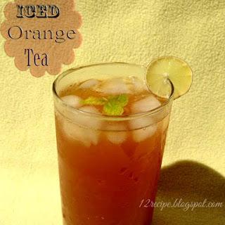 Iced Orange Tea.