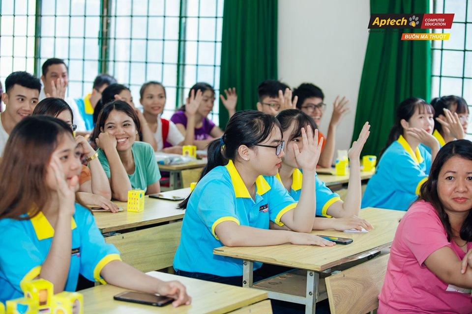 Aptech Buôn Ma Thuột - Cơ hội cho người trẻ đam mê công nghệ.