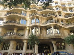 Photo: Los balcones de la Pedrera.