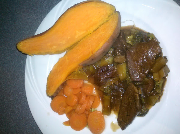 Beef And Broccoli, Crock Pot Style Recipe