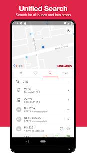 Singabus - Сингапурский автобус Timing   MRT приложение SG