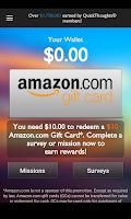 Screenshot of QuickThoughts – Earn Rewards
