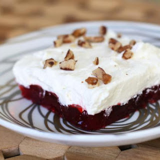 Cranberry Gelatin Salad With Cream Cheese Recipes