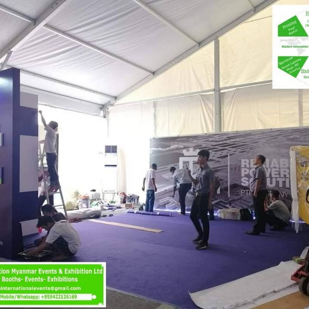 Myanmar Events-Special Booths-Exhibitions Services - Event