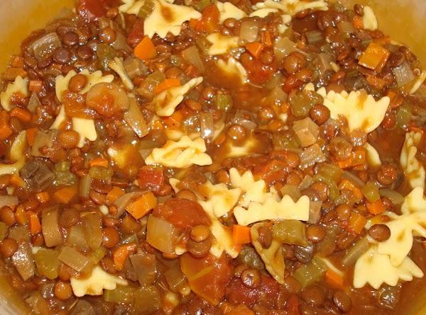 Kathy's Lentil Soup Recipe