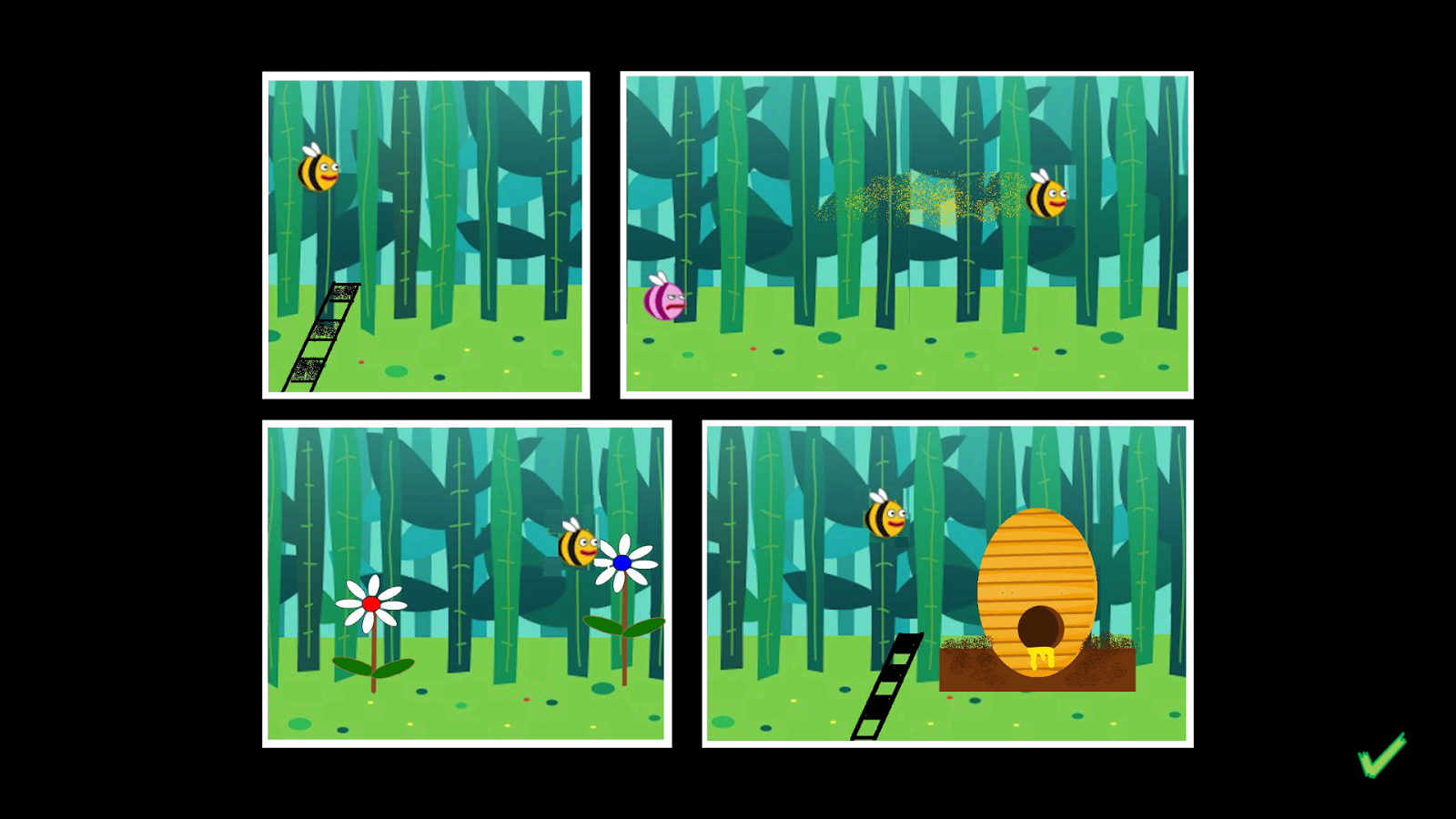 Wing Leader - the Olympics for Bees- screenshot