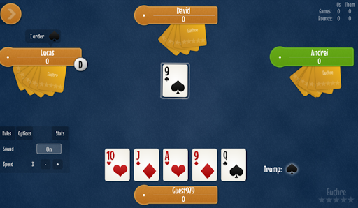 Euchre free card game 1.7 screenshots 6