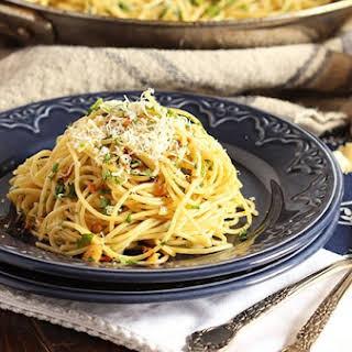 Spaghetti Aglio e Olio.