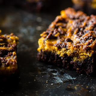 Peanut Butter Cookie Brownies [Vegan]