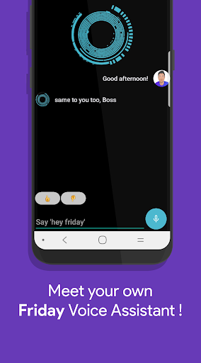 Friday: Smart Personal Assistant 44 screenshots n 1