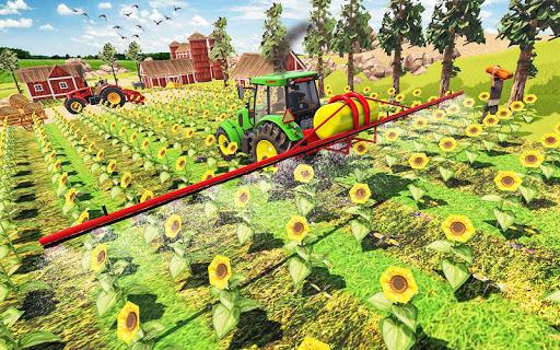 Real Farming Tractor Farm Simulator: Tractor Games android2mod screenshots 2