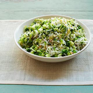 Broccoli-Rice Pilaf.