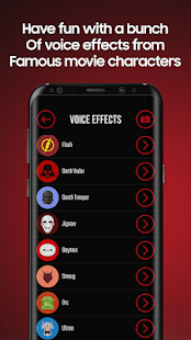 Voice Effects Screenshot