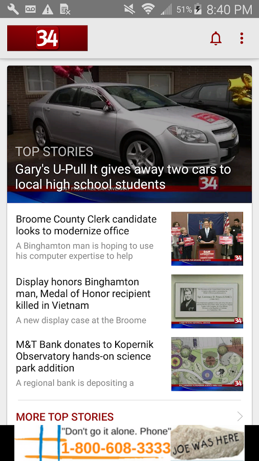 NewsChannel 34 Binghamton News- screenshot