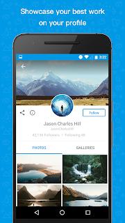 500px – Discover great photos screenshot 00
