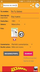 Recetas del chef for PC-Windows 7,8,10 and Mac apk screenshot 8