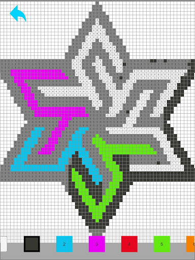 Pixelmania Sandbox Color By Number