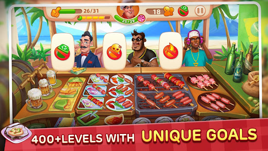 Download Cooking Yummy-Restaurant Game For PC Windows and Mac apk screenshot 2