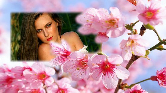 Sakura Flower Photo Frames screenshot