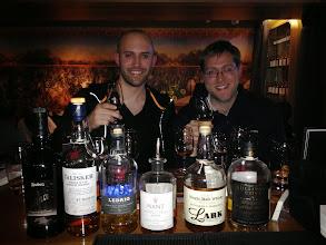 Photo: Whiskey tasting