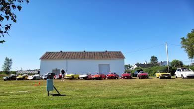 Photo: 13 belles voitures, un chiffre chanceux, on a une superbe de belle journée !