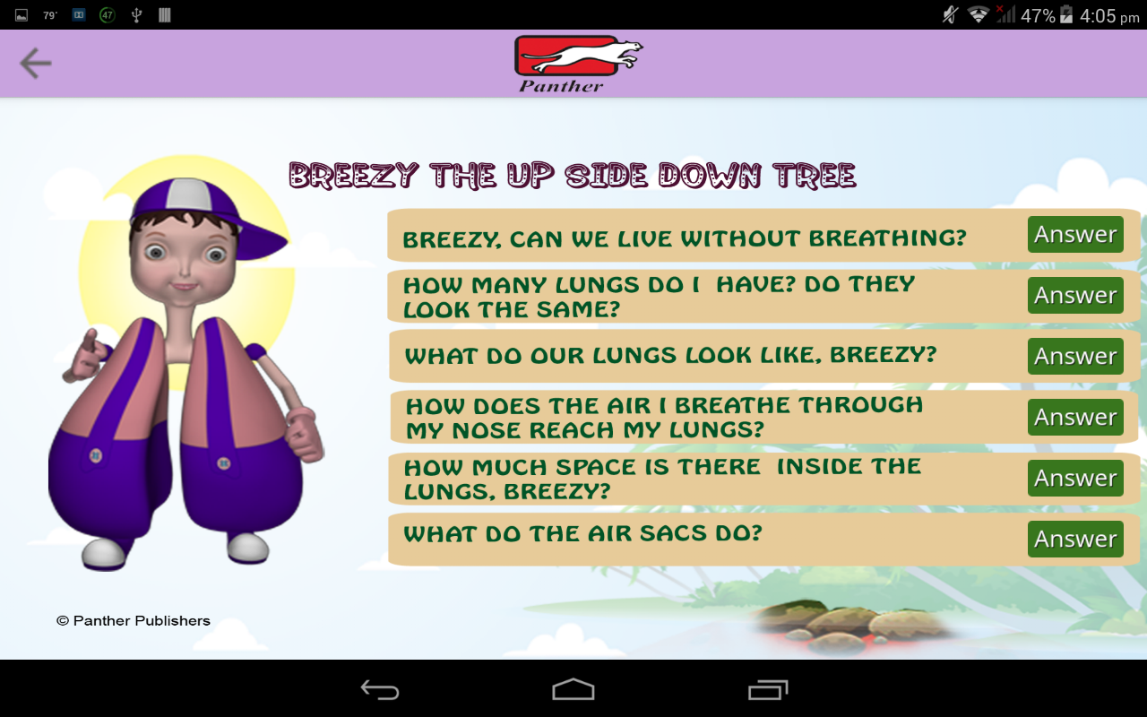 Anatomy for Children-The Lungs- screenshot