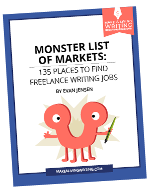 Monster List of Markets: 135 Places to Find Freelance Writing Jobs. Makealivingwriting.com
