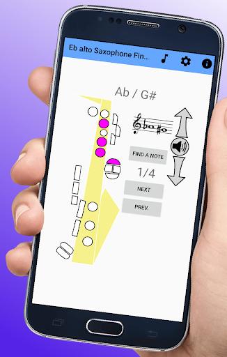 Download Saxophone Fingering Chart 2.3 1