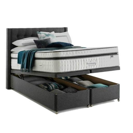 Silentnight Anniversary Mirapocket Box Top Ottoman Bed