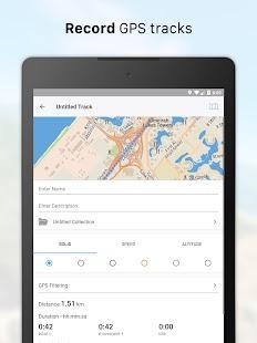 Galileo Pro / Offline Maps and Navigation Screenshot