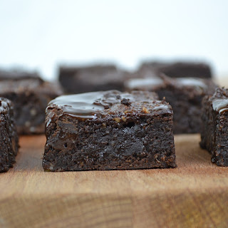 Sweet potato Vegan Brownies.
