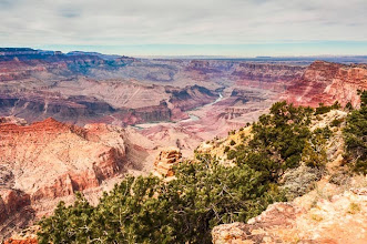 Photo: Desert View, South Rim of Grand Canyon Nation Park, Arizona, USA