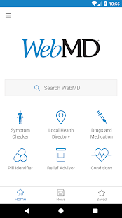 WebMD for Android: miniatura de captura de pantalla