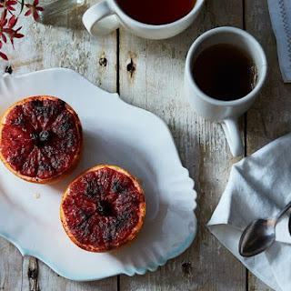 Rise and Shine Spiced Pink Grapefruit Brûlée