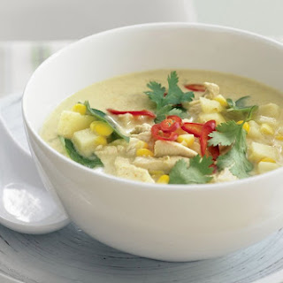 Thai Chicken And Corn Chowder