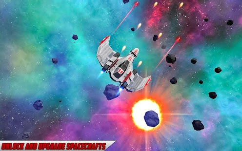 space galaxy adventure shooter game - náhled