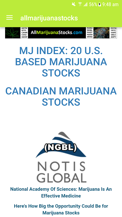 allmarijuanastocks- screenshot