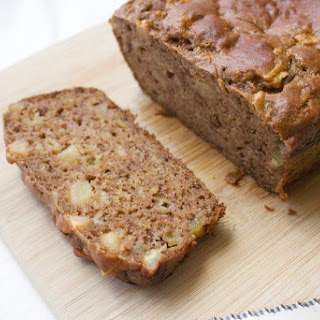 One Bowl Apple Banana Greek Yogurt Quick Bread
