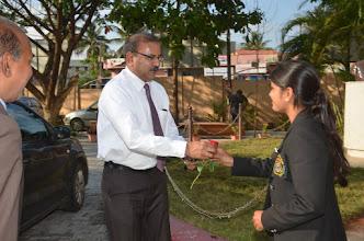 Photo: Prof. CS Patil, Dean, KSLU