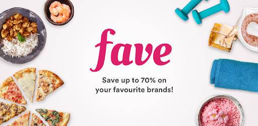 Get the best deals in town, or go cashless & get up to 50% cashback with FavePay