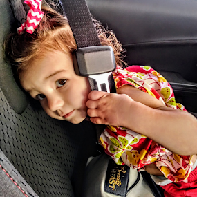 by Carlo McCoy - Instagram & Mobile Android ( soft colors, toddlers, latina, kid, portraits, android, mixed, babies, instagram, inside, eyes, colors, interior, vehicle, red, white, children, car, safety, patient, ready, on the go, moving, mobile, moloto, transportation, seatbelts, purse, child )