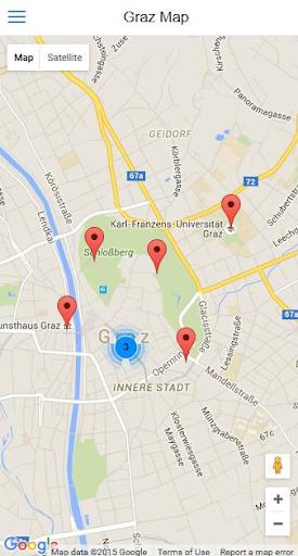 無料旅游Appのグラーツシティガイド|記事Game