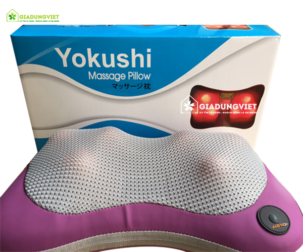 Bộ sản phẩm gối massage của nhật Yokushi 6 viên bi
