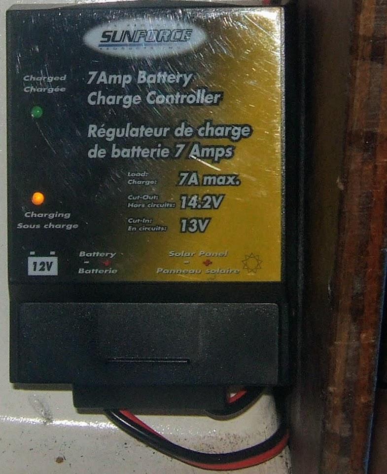 Regulateur solaire pwm 7Ah