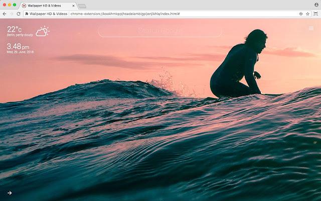 Surfing Hd Wallpaper Videos