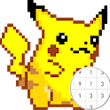 Pokepix Color By Number - Art Pixel Coloring icon