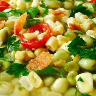 Southern White Acre Pea Succotash Recipe