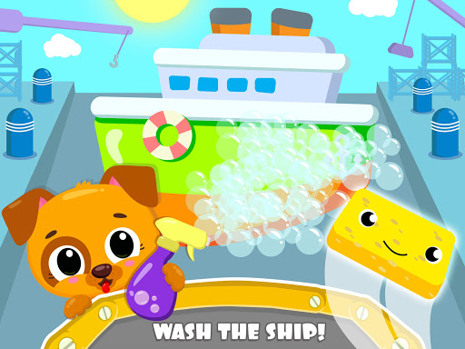 Cute & Tiny Ships - Baby Boat Fix, Paint & Care - screenshot